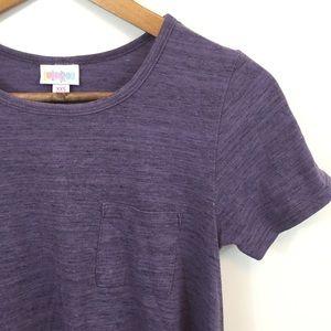 LulaRoe XXS Carly Dress in Purple